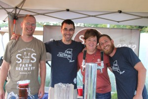 The S & S Farm Brewery Team